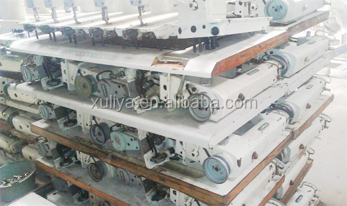 SIRUBA 818F USED SECOND HAND single needle LOCKSTITCH industrial sewing machine made in Taiwan
