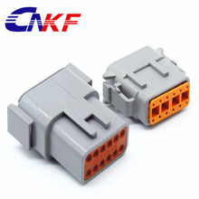 Deutsch connector china auto connector manufacture supply DTM series 12pin waterproof plug