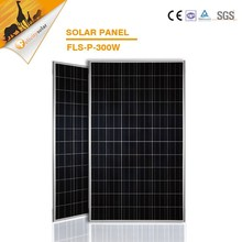 300w high voltage electrical panels/hot sale sealed solar module/ price per watt solar panels