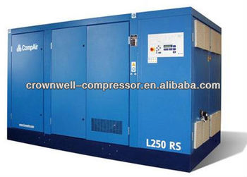 CompAir Oil Lubricated Screw Air Compressor L200RS regulated speed