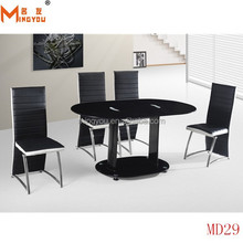 elegant hexagon perspex 8 seater dining table