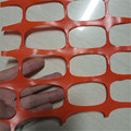 Plastic white snow fence orange safety fence warning net