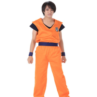 5pcs/lot Women Men Fashion Dragon ball Z Son Goku Cosplay Costumes Short Sleeve T-shirts Sweatshirt Unisex Casual Tees Tops