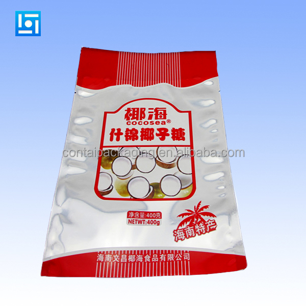 Food plastic packaging bags printing custom design dumplings frozen bag
