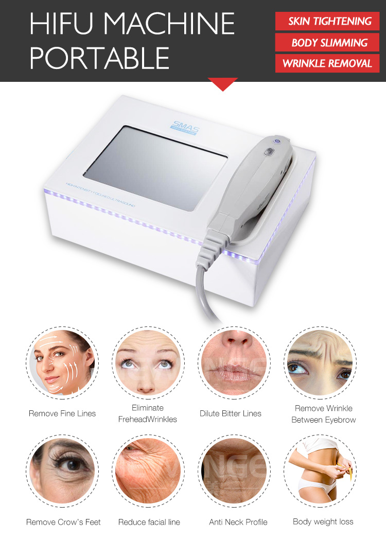 Face skin tightening wholesale portable hifu for home use