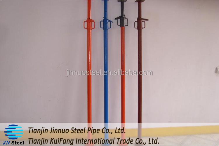 Medium Duty Scaffolding : Painted electric galvanized medium duty steel props