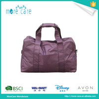 purple color travel garment bag for men