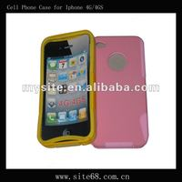Stylish mesh combo celular phone Case Covers for Iphone 4G/4GS