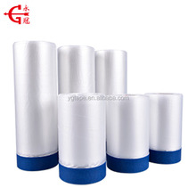 Outdoor used Blue Paper Pretaped Masking Film