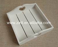 Home decoration Wood decorative gift new design cheap 20*20*6 cm Wood tray