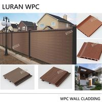 factory price outdoor WPC decorative exterior wall panels