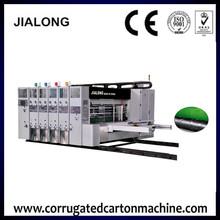 high speed advanced new size dongguang high quality corrugated online shopping carton box printing machine
