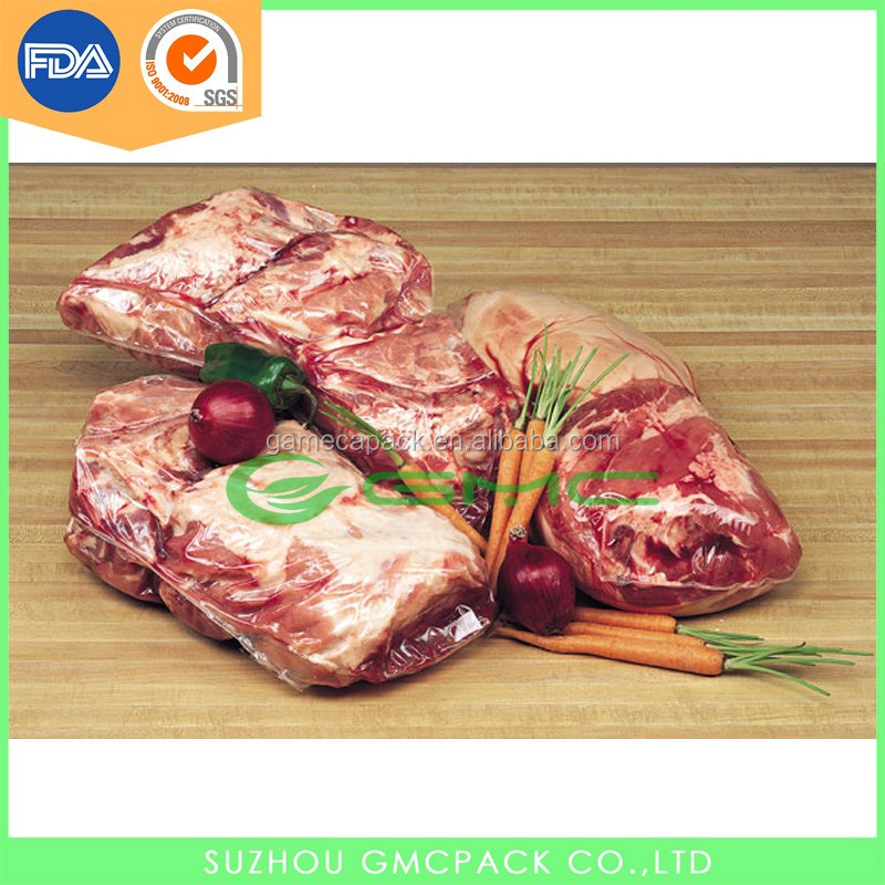 FDA Certified Vacuum Shrink Food Packing Bags for Meat Products