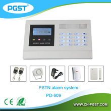 Wirless gsm intelligent home burglar security alarm system with LCD display PG-700, CE&ROHS