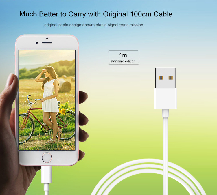 Top Quality MFI Certified USB Data Sync Fast Charging Cable For iPhone 7