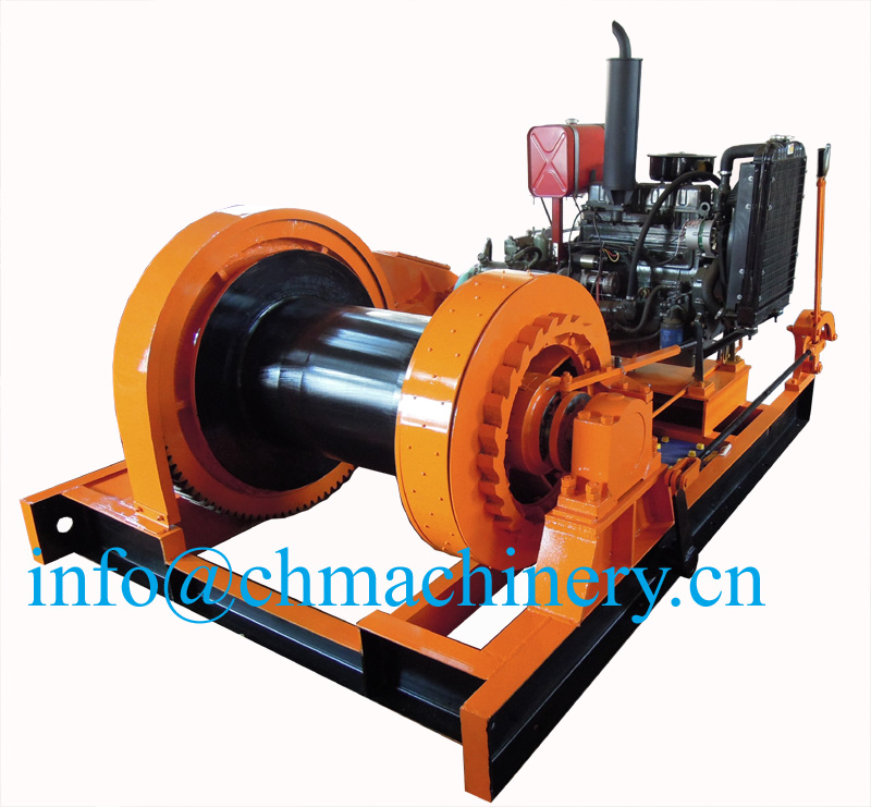 10ton Diesel Engine Anchor Winch For Marine Use Buy