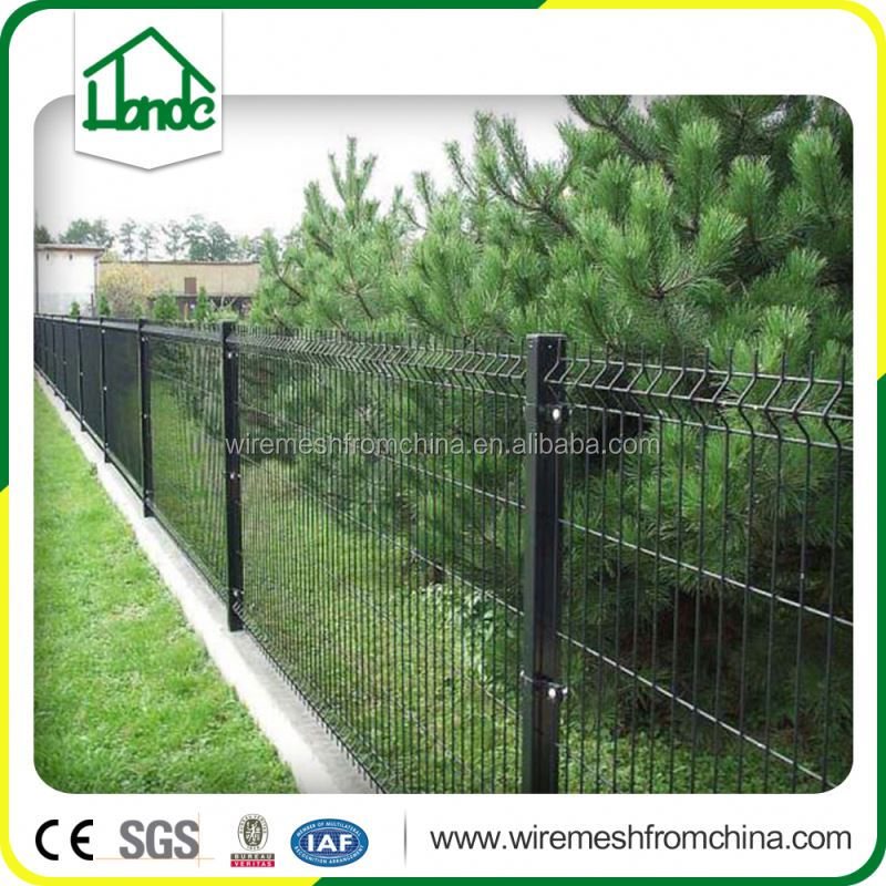 pvc coated weld wire fence