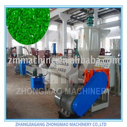 pp pe film material double stage pelletizer