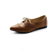 Genuine leather handmade women casual shoes