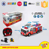 New 4 Channel rc car engine radio control fire fighting truck toys