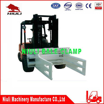 Bale Clamp Forklift