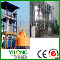 PLC controled used motor oil to SN100 base oil purifier with factory price