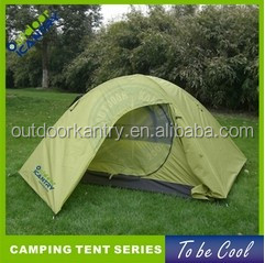 Dome camping tent two layers tent Canvas camping tent