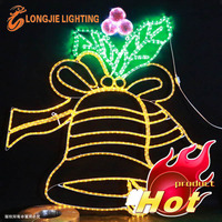 LED Bell Motif Light For Christmas