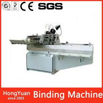 High quanlity Automatic Saddle stitching wire binding machine for book notebook menu