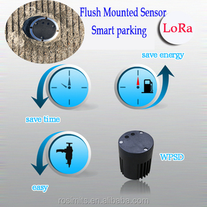 Vehicle Detection Sensor Flush Mount Car Space Detector for Automatic Parking System