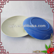 Double color Bamboo melamine plate