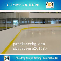 China supplier portable uhmwpe board for ice arena