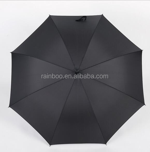 Logo printed Auto open straight promotional golf umbrella