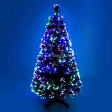 Super Bright Ever-changing lights Led Christmas Tree With Fiber Optic