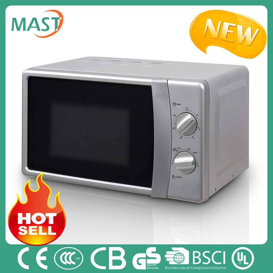 2016 popular consumer electronics 12v dc yellow microwave oven