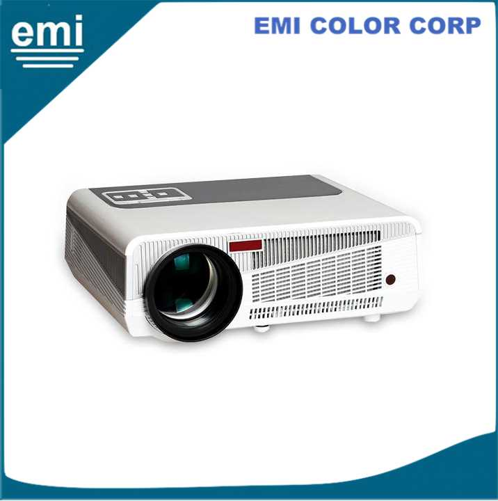 Android WIFI smart EM86W home theater Projector 1080p TV projector beamer