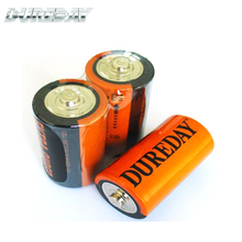 Ultra power zinc carbon 1.5v am2 c size lr14 dry cell battery
