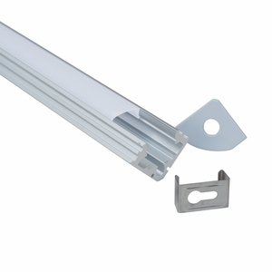 corner shape aluminium profile for led strip profile light