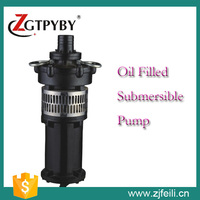 QY Series Oil Filled Electric Motor Irrigation Water Pump with Factory Price