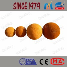 Durable Concrete Pump Pipe Cleaning Ball Sponge Rubber Cleaning Ball