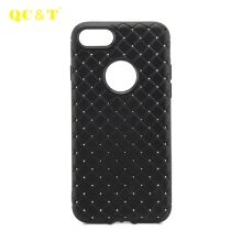 2017 New Fashion Unbreakable Vintage Braided Pattern Soft TPU Case Mobile Phone Cover For iphone 7