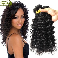NEW arrivals Brazilian 100% unprocessed hair bundles & human hair weave 7A fast shipping deep wave