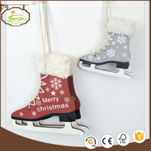 top sale decoration good quality xmas decor christmas weihnachten santa boot decoration
