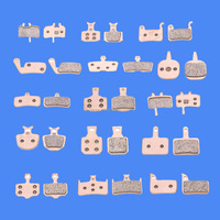 No Noise Long Life chopper bicycle parts Sintered Brake Pads For All Models Mountain Bikes