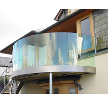 balcony railing designs curved glass railing /terrace railing designs