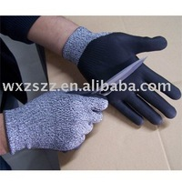 Safety gloves of cut resistant/high quality