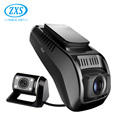 Dual Lens Mini 1.5 Inch Dash Camera Car Dvr Full Hd 180P Car Driving Recorder With Gps Wifi