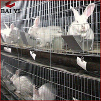 Design Metal Breeding 4 Layer Cages For Rabbit Pigeon