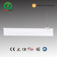 wide distribution High lumen 120lm/w led linear trunk wiring system