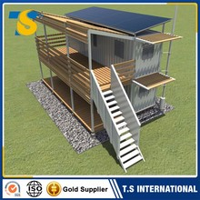 Factory Direct Low Price Fireproof and waterproof prefab container house in india